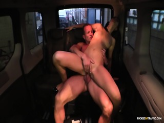 Fucked In Traffic - Czech Teen Brunette Getting Fucked At A Car Wash