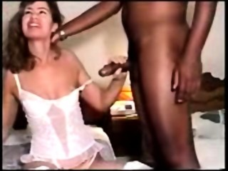 Blonde Husband Wife Horny - Likes Black Cock Sperm