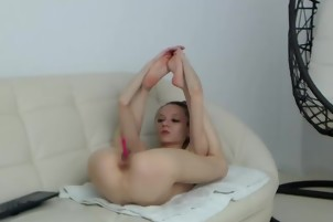 Tasty Slender Shaved Show In Masturbation Treasury