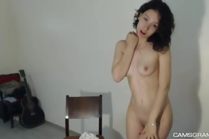 Hot Sexy Slender Teen Loves Hot Shows On Cam