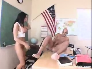 Busty and sexy Cody punished sucking and fucking the dean