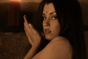 Erotic Brunette Lover From Bollywood Is A Sexy Dancer