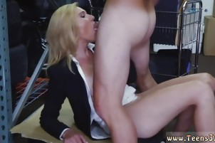 Blonde big tits cock xxx Hot Milf Banged At The PawnSHop