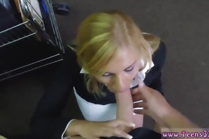 Huge natural tits strapon Hot Milf Banged At The PawnSHop