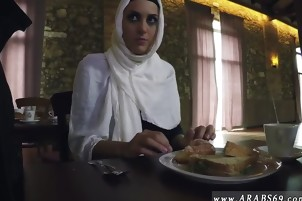 Dubai arab girls first time Hungry Woman Gets Food and Fuck
