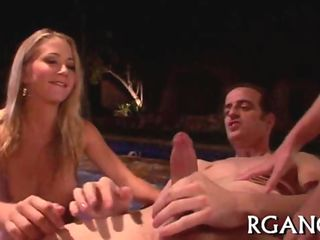 gangbang with slutty gals sex movie 2