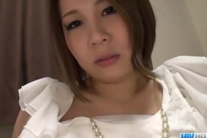 Mao Mizusawa gets riding cock in full POV scenes
