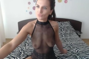Favorite Adorable Slender Camgirl Sex Show