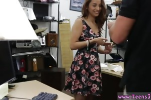 Flexible hardcore College Student Banged in my pawn shop!
