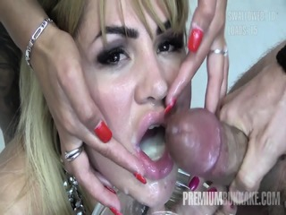 Premium Bukkake - 100 Mouthful Cumshots Compilation