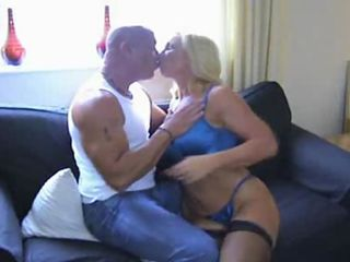 Hot Busty Blonde Gives Oral Pleasure