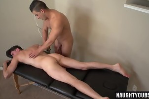 Hot gays oral sex and massage