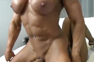 Latina dominated by strong blonde