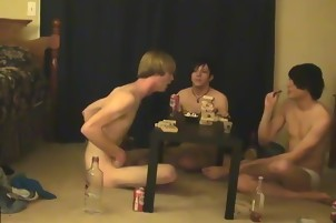 Gay porn vid emo boy Trace and William get together with