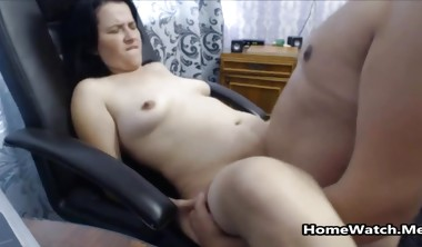 She Likes Rubbing Hot Cum On Her Belly