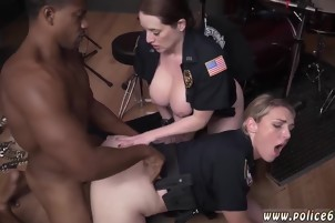 Ebony cop booty xxx Raw flick takes hold of police drilling a