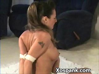 Bdsm Whore Spanked Vigorously