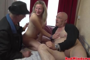 She Slurps On His Fat Cock Before Taking It From Behind
