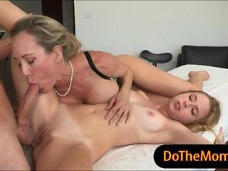 Two horny women Brandi Love and Taylor Whyte hot threesome