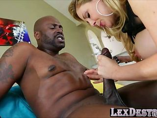 Cherie DeVille with Lex getting blasted and plowed