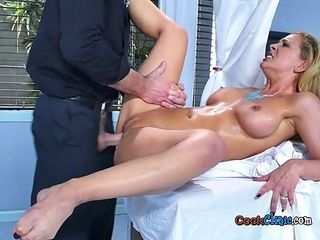 Hot Patient Cherie Deville Enjoys Doctors Cock And Jizz