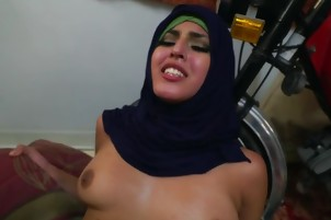 Arab Chick Sophia Leone Gets Banged And Facialized
