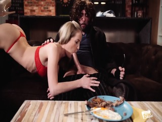XXX SHADES - Steak   Blowjob Day Fun With Hungarian Babe Sicilia And Pablo Ferrari