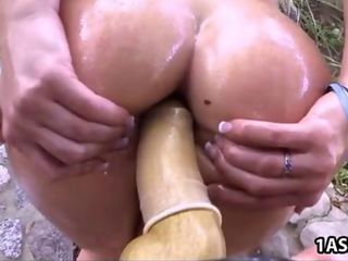 Double Penetration with pawg AJ Applegate