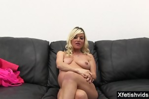 Hot pregnant threesome with facial