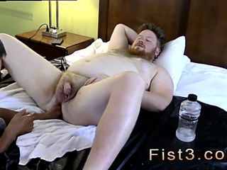 Gay guys fisting Sky Works Brocks Hole with his Fist