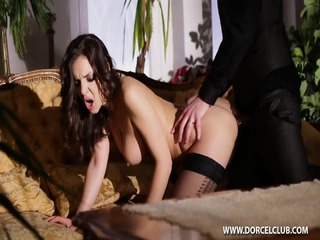 Anal Sex With Awesome Brunette