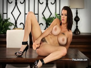 Peta Jensen Has Some Fun With Her Dildo