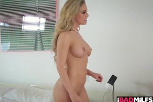 Bad ass wild milf Cherie Deville has a taste for cock