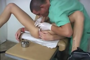Latino guys gay porn physical test While he was still