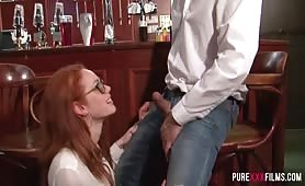 Purexxxfilms - Ella Hughes fucking at the bar
