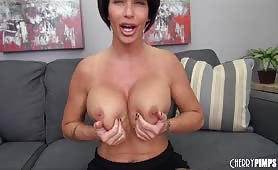 Hot Brunette MILF Shay Fox Masturbating!