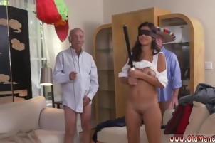 Sexy old milf Going South Of The Border