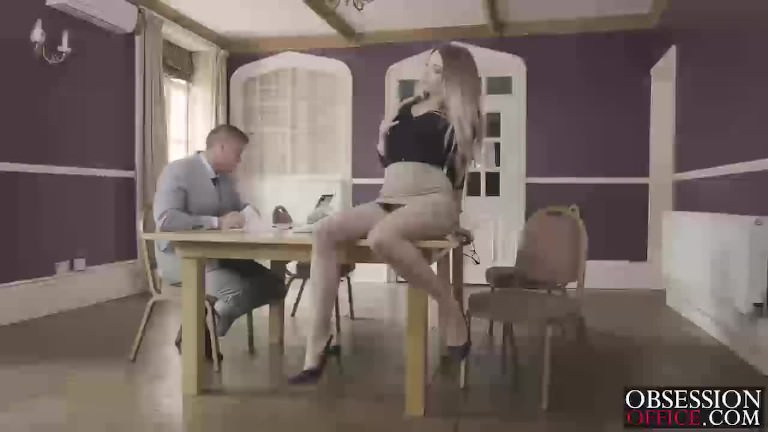 Hot secretary Tamara gets fucked hard