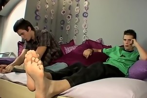 Gay kiss twink guys cock feet Brothers Jacking And Shooting