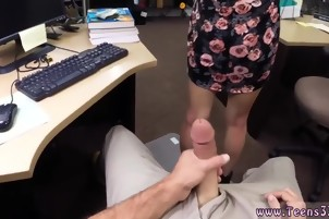 Amateur huge dick xxx College Student Banged in my pawn shop!