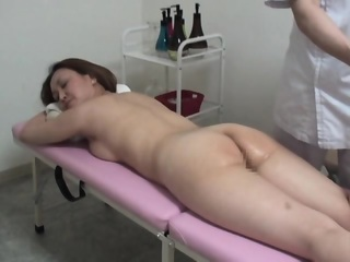 Spycam Wife Massage Orgasm