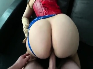 Wonder Woman Big Ass Fucked And Creamed On Pussy