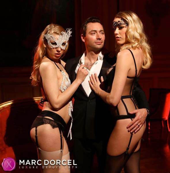 Mia Malkova, Lucy Heart, Anny Aurora - Foursome for a lovers (DorcelClubcom/2018/FullHD).