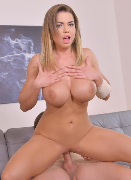 Chloe Lamour - Sensual Bombshell Chloe Lamour rides humongous dong And Gets Titty hammered Hard For Cumshot GP210 (2018/LegalPornocom/HD).