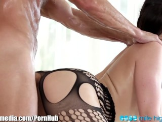 MileHigh Aletta Ocean Sopping Wet and Pounded