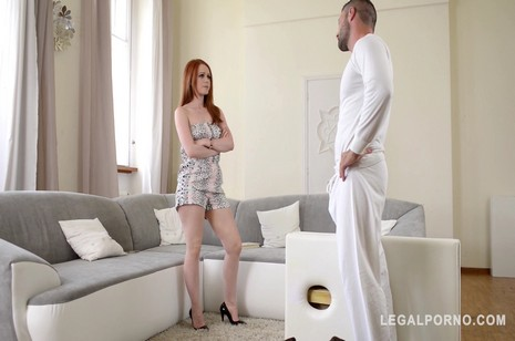 legalporno glam porno horny sandy-haired ella hughes is corded up smacked fingerblasted and humped gp184
