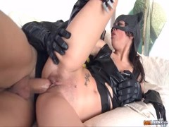 Cat man and bat man casting porn to different way Cosplay HD