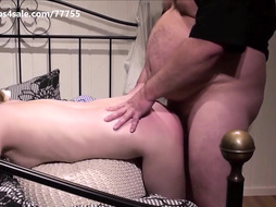 a young girl get smacked and rock rock-hard pulverized by an olderly pervo
