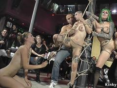 Sluts brought to public bar for group fuck on GotPorn 11261048