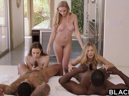 BLACKED Kendra Sunderland Brings A Few Buddies